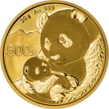 2019 30g Gold Panda Coin Bullion 25580
