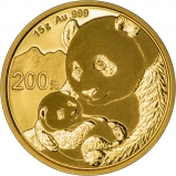 2019 15g Gold Panda Coin Bullion 25582