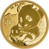 2019 3g Gold Panda Coin Bullion 25586