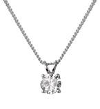 Platinum White Diamond Pendant 21910