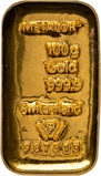 100g Gold Bar Metalor Pre-Owned 22661