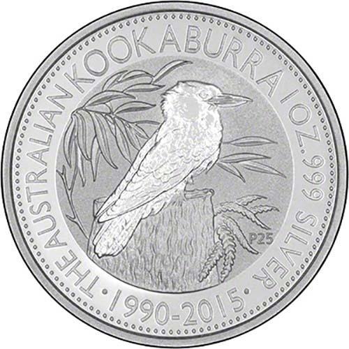 2015 Silver Kookaburra 1 Kg Bullion Coin Chard