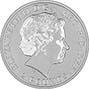 2015 1 oz Silver Coin Lunar Year of the Sheep Royal Mint Bullion 24698