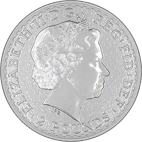 2015 Silver Britannia 1 Oz Bullion Coin Chard