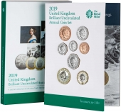 2019 United Kingdom Brilliant Uncirculated Annual Coin Set 25615