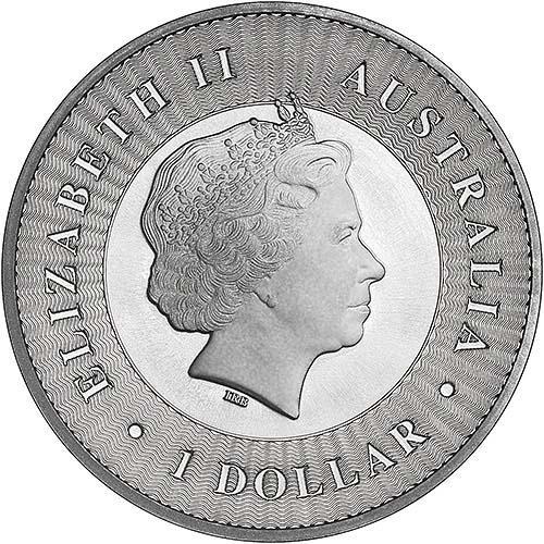2017 1 oz Silver Coin Kangaroo Bullion 21533
