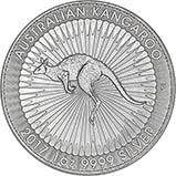 2017 1 oz Silver Coin Kangaroo Bullion 21534