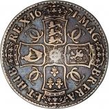1671 Charles II Silver Crown Reverse