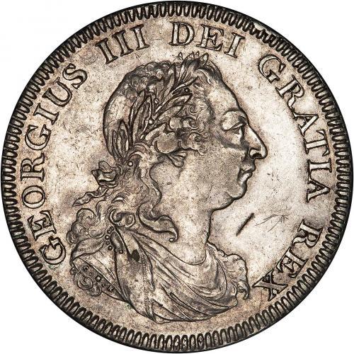 1804 George III Bank of England Silver Dollar Obverse