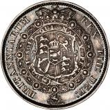 1817 George III Silver Half Crown Reverse