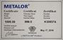 1 Kg Silver Bar Metalor New 23826