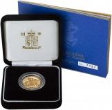 2005 Gold Full Sovereign Elizabeth II Proof Presentation Box