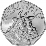 2019 B.U 50 Pence Gruffalo Coin Reverse
