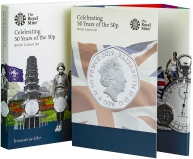 2019 B.U. 50 Years of the 50p 5-Coin British Culture Set Presentation Pack