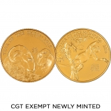 1 oz Best Value CGT Exempt Gold Coin Newly Minted
