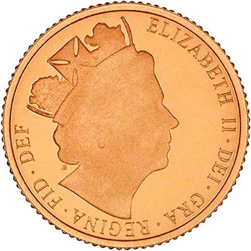 2016 Gold Half Sovereign Elizabeth II Proof 23340
