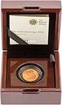 2016 Gold Half Sovereign Elizabeth II Proof 23343