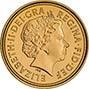 2007 Gold Half Sovereign Elizabeth II Bullion Obverse