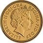 2006 Gold Half Sovereign Elizabeth II Bullion Obverse