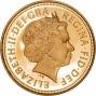 2006 Gold Half Sovereign Elizabeth II Proof Obverse