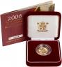 2006 Gold Half Sovereign Elizabeth II Proof Presentation Box