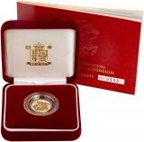 2005 Gold Half Sovereign Elizabeth II Proof Presentation Box