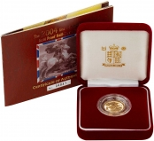 2004 Gold Half Sovereign Elizabeth II Proof Presentation Box