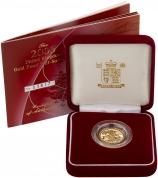 2003 Gold Half Sovereign Elizabeth II Proof Presentation Box