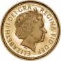 2003 Gold Half Sovereign Elizabeth II Proof Obverse