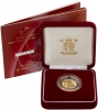 2003 Gold Half Sovereign Elizabeth II Proof Presentation Box
