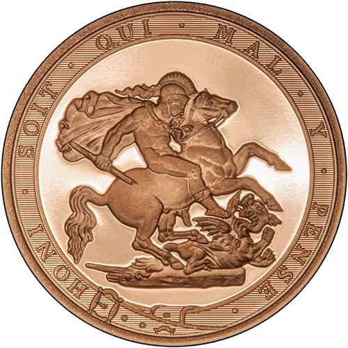 2017 Gold Sovereign Proof 21506