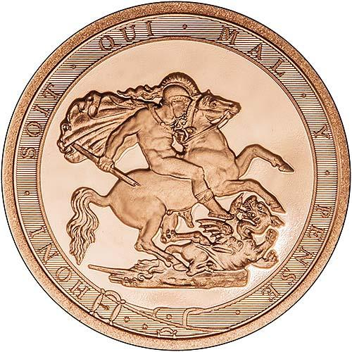 2017 Gold Half Sovereign Elizabeth II Proof 24843