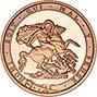 2017 Gold Quarter Sovereign Elizabeth II Proof 25291