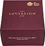 2017 Gold Quarter Sovereign Elizabeth II Proof 25290