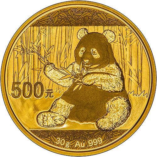 2017 30g Gold Coin Panda Bullion 23138