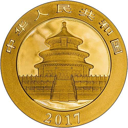 2017 30g Gold Coin Panda Bullion 23139