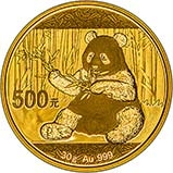 2017 30g Gold Coin Panda Bullion 23138