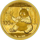 2017 8g Gold Coin Panda Bullion 24537