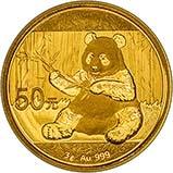 2017 3g Gold Coin Panda Bullion 23604