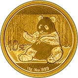 2017 1g Gold Coin Panda Bullion 24816