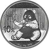 2017 30g Silver Coin Panda Bullion 24190