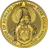 2017 1 oz Gold Coin Queen's Beasts  Griffin Bullion 20637