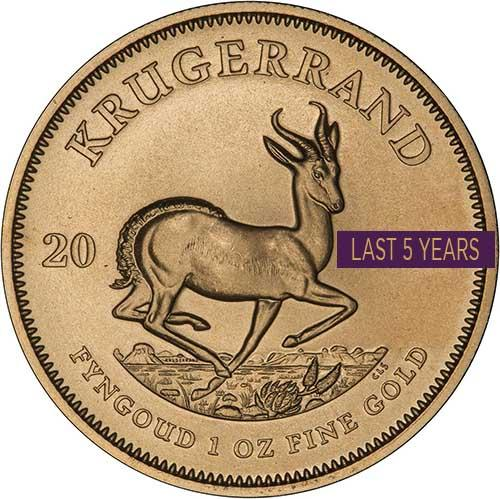 1 oz Gold Coin Krugerrand Bullion Best Value Newly Minted 23552